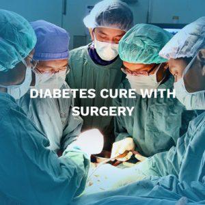 Diabetes cure surgery